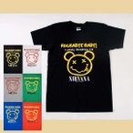 (AG) ニルヴァーナ NIRVANA 1 S/S バンドTシャツ ロックTシャツ
