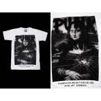 (AR) ポップアートTシャツ POP ART T-SHIRTS 13 WHT S/S モナリザ MONA LISA バンドTシャツ ロックTシャツ