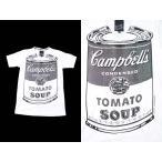 (BF) ポップアートTシャツ POP ART T-SHIRTS 7 WHT S/S (Vネック)キャンベル スープ カンパニー CAMPBELL SOUP COMPANY バンドTシャツ ロックTシャツ