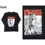 (W) レッドホットチリペッパーズ RED HOT CHILI PEPPERS (レッチリ) 2 BLK L/S(長袖) バンドTシャツ ロックTシャツ