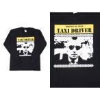 (W) ロバートデニーロ ROBERT DE NIRO TAXI DRIVER 1 BLK L/S(長袖) バンドTシャツ ロックTシャツ