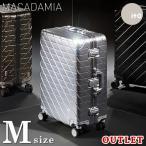 雅虎商城 - スーツケース 中型 キャリーバッグ 中型 スーツケース Mサイズ TSA対応ダイヤルロック アルミ合金 YKKファスナー