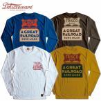DELUXEWARE デラックスウエア Tシャツ DLL-06 FRISCO 長袖 ロンT S-XL 4色 アメカジ メンズ