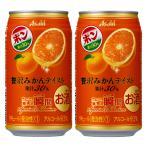 アサヒ 果実の瞬間 贅沢みかんテイスト 果汁30% 3% 350ml(1ケース/24本入り)(1)
