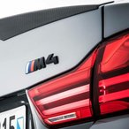 BMW純正F82 M4Competition packageリアトランクエンブレムF83F32F33F36