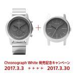 wena クロノグラフホワイトモデル発売記念セット1
