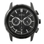 wena wrist Chronograph Classic Premium Black head