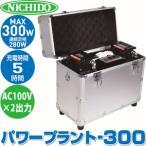 日動工業 AC100Vポータブル電源  パワープラント300 LPE-300W-LIFE