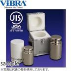新光電子(VIBRA) F1CSO-2KJ JISマーク付OIML型円筒分銅 F1級(特級) 2kg 非磁性ステンレス製