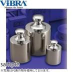 新光電子(VIBRA) F2CSB-10K 基準分銅型円筒分銅 F2級(1級) 10kg 非磁性ステンレス製