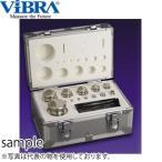 新光電子(VIBRA) F2CSO-5KAJ JISマーク付OIML型円筒分銅セット F2級(1級) 5kgセット(1g〜2kg) 非磁性ステンレス製