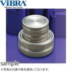 新光電子(VIBRA) M1DB-2K 円盤分銅 M1級(2級) 2kg 黄銅クロムメッキ製