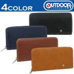 長財布 ラウンドファスナー outdoor アウトドアプロダクツ 合成皮革 メンズ OD0025 札入れ カード入れ