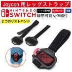 Nintendo Switch リングコン 交換用 グリップ Joy-Con ハンドル レッグバンド バンドセット リングフィット アドベンチャー対応 脚固定ストラップ 2点セット