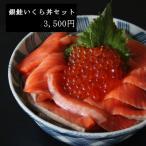 鮭イクラ丼セット/銀王フィレといくら醤油漬けがセットに!/ボリュームたっぷりの銀鮭フィレでアレンジ料理も/冷凍でお届け