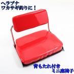 ワカサギ・へらぶな釣りなどに 背もたれ付き ミニ座椅子 (50254)
