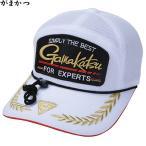 がまかつ オールメッシュキャップ(ワッペン) ホワイト GM-9805 (フィッシングキャップ 帽子)