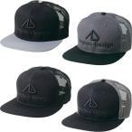 アングラーズデザイン フラットバイザーメッシュキャップ ADC-16 (帽子)