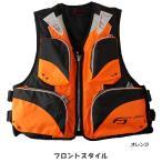 お買得品 ライフジャケット FV-6110 笛付き オレンジ×ブラック (フローティングベスト 大人用)