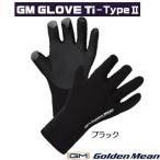 ゴールデンミーン グローブ Ti タイプ2 ブラック 手袋