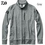 (最大29倍!)  ダイワ ライトスウェットジャケット DE-8707J グレー M〜2XL (防寒着 釣り)(店内最大10倍!12/14まで!お買い物リレー!)