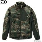 ダイワ プリマロフト ライトジャケット グリーンカモ DJ-24008 M〜XL (防寒着 防寒ウエア)