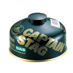 キャプテンスタッグ レギュラーガスカートリッジ CS−150 M-8258 カスボンベ キャンプ ガス キャンプ