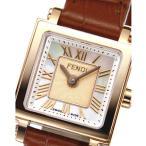 フェンディ FENDI 腕時計 QUADRO MINI スクエアレザーLウォッチ F604524521 ギフトラッピング無料