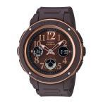 ベイビージー BABY-G 腕時計 BG・18S Navy&Brown アナデジLウォッチ BGA-150PG-5B2JF ギフトラッピング無料