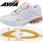 AVIAアビア フィットネスシューズ A6812W WGD(ホワイト×ゴールド)(22.5〜28.0cm/レディース/メンズ) アヴィア正規品