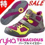 [RYKA]ライカ ダンスフィットネスシューズ TENACIOUS<テナシオス> E6643M-1020 〔パープル×イエロー〕(22.5〜25.0cm/レディース)【セール対象商品】