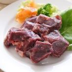 肉の日クーポン対象 愛犬用生肉 北海道産 天然エゾ鹿肉 赤身切り落とし 500g(100g×5) 冷凍便 常温品同梱不可 ドッグフード