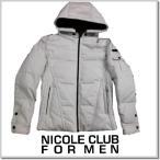ニコルクラブフォーメン NICOLE CLUB FOR MEN アラカルトデニム ダウンジャケtット 7564-3704-09