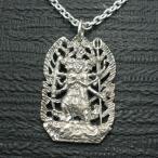 ペンダント 仏像 降三世明王 メンズ シルバー925 ネックレス