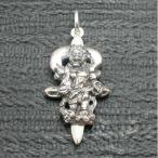 ペンダント 風神 仏像 メンズ シルバー925 クロス