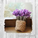 ラベンダーの花束ブローチ