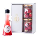 MCTオイル +F 120g×1本 フリーズドライ苺 ギフトセット
