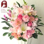 即日発送のお祝い花ギフト 旬のおまかせ祝花5400 花束 アレンジメント