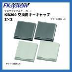 POS プログラマブルキーボード  KB200 交換用キートップ 【4キー用】(2個セット)