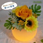 プリザーブドフラワー 敬老の日 プレゼント 花 ギフト Fluna(フルーナ)LED 光る フラワーギフト 誕生日 プレゼント 母 祖母 女性