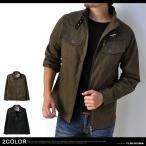 ショッピング 最終処分 シャツジャケット メンズ ミリタリー 立襟 ライダースMIXジャケット A1F