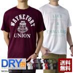 Tシャツ メンズ 半袖 吸汗速乾 ドライ Tシャツ 3L 4L アメカジ プリント 送料無料 D2L【パケ1】