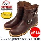 セール SALE ピストレロ PISTOLERO 7インチ Engineer Boot  エンジニアブーツ メキシコ製 CORDVAN 101-04