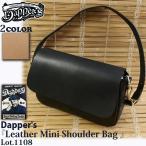 【DAPPER'S】『Leather Mini Shoulder Bag 』