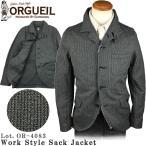 ���륲���� ORGUEIL ����������� ���å� ���㥱�å� OR-4083 2017ǯ ���� Work Style Sack Jacket ���ƥ�ǥ����������������
