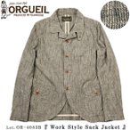 ���륲���� ORGUEIL OR-4083B ����������� ���å� ���㥱�å� Sack Jacket ���ƥ�ǥ���������������� Lot. OR-4083B
