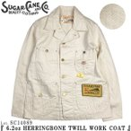 ���奬�������� SC14089 6.2oz �إ��ܡ���ĥ��� ��� ������ SUGAR CANE HERRINGBONE TWILL WORK COAT SC14089 ����