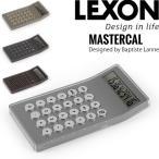 LEXONレクソン MASTERCAL Designed by Baptiste Lanne LC73A 電卓(ADM)/在庫有