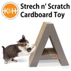 K&H Strech n'Scrach Cardboard Toy ストレッチン スクラッチ カードボード トイ(GMP)/在庫有