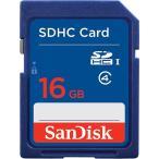 ◇ 【16GB】 SanDisk/サンディスク SDHCカード CLASS4 海外リテール品 SDSDB-016G-B35 ◆メ